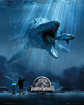 Pôster Jurassic World - Mosa One Sheet
