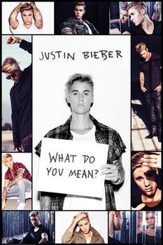 Justin Bieber – Grid Poster, Art Print