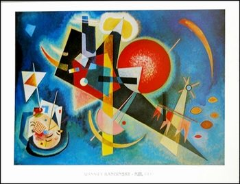 Kandinsky - Nel Blu Art Print
