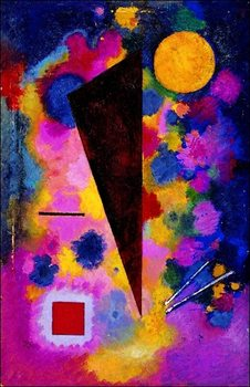 Kandinsky - Resonance Multicolore Art Print