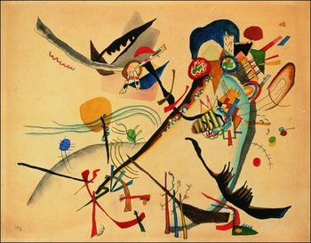 Kandinsky - Study For Blue Segment Art Print