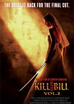 KILL BILL 2 – one sheet Poster