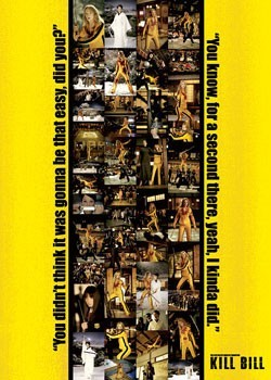 KILL BILL - photo strip Poster
