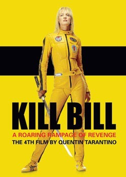 KILL BILL - yellow leathers Poster