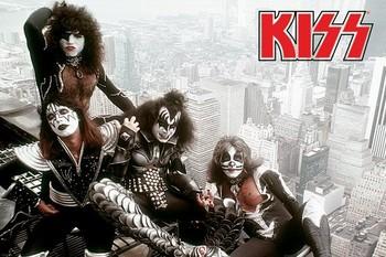 Kiss - new york city Poster