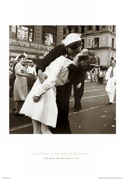 Kissing the war goodbye Poster
