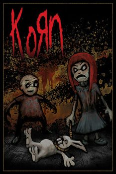Pôster KORN - dead bunny