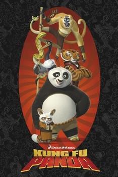 KUNG FU PANDA - characters Poster
