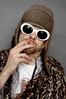 Kurt Cobain - Colour Poster