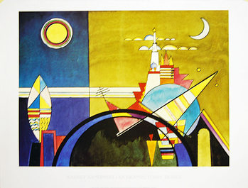 La Grande Torre Di Kiev Art Print