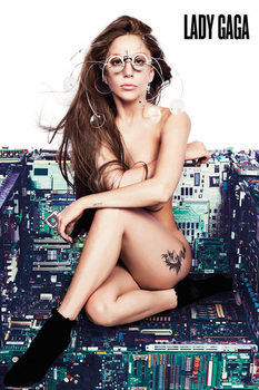Lady Gaga - chair Poster, Art Print