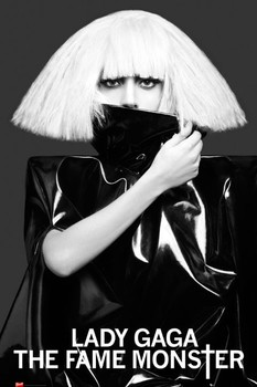 Lady Gaga - white hair Poster