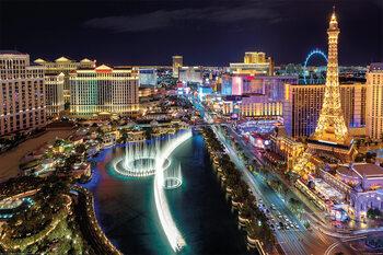 Poster Las Vegas - Aerial View