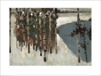Law Wai Hin - Birch Trees Art Print