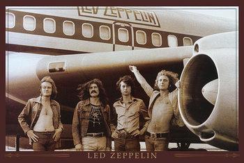 Led Zeppelin - Flugzeug Poster