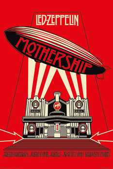 Poster  Led Zeppelin - Mothership Red