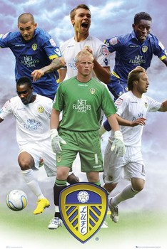 Leeds - players 2010/2011 Poster