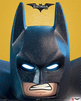 Lego® Batman - Close Up Poster