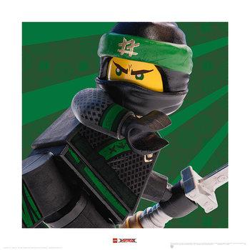 Lego Ninjago Film - Lloyd Crop Art Print
