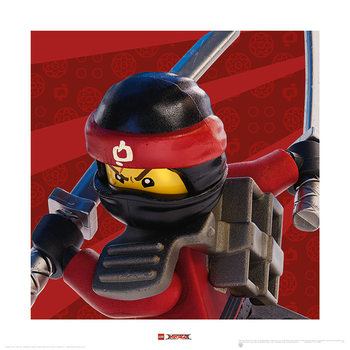 Lego Ninjago Movie - Kai Crop Art Print