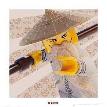 Lego Ninjago Movie - Master Wu Crop Art Print