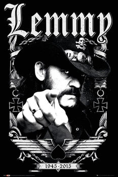 Lemmy - Dates Poster, Art Print