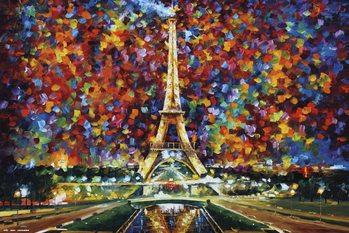 Leonid Afremov - Paris Poster
