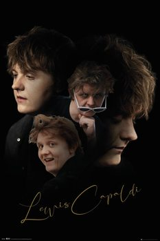 Lewis Capaldi - Double Exposure Poster