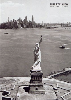 Liberty view - Statue of liberty Poster