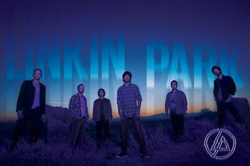 Linkin Park - dark Poster