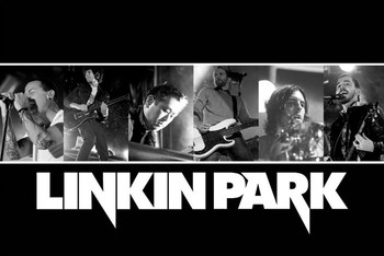 Linkin Park - live landscape Poster
