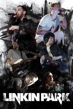 Linkin Park - live portrait Poster