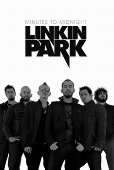 Linkin Park - white Poster