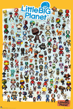 Pôster Little Big Planet 3 - Characters
