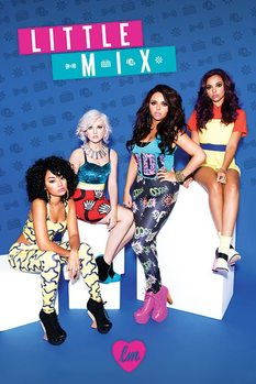 Little mix - Blue mix Poster