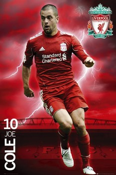 Liverpool - cole 2010/2011 Poster