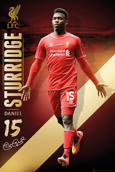 Liverpool FC - Sturridge 14/15 Poster