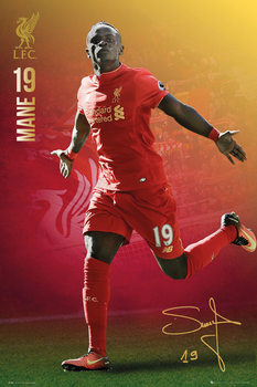 Liverpool - Mane 16/17 Poster