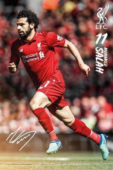 Liverpool - Mohamed Salah 1819 Poster