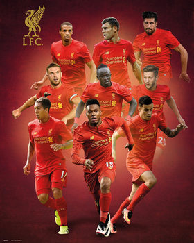Poster Liverpool - Players 16/17