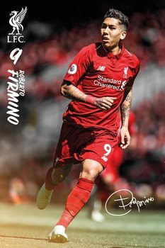 Poster  Liverpool - Roberto Firmino 18/19