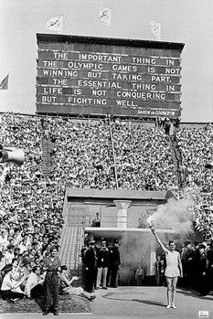 London 1948 olympics - opening ceremony Poster