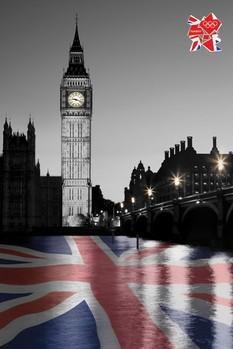 London 2012 olympics - big ben Poster