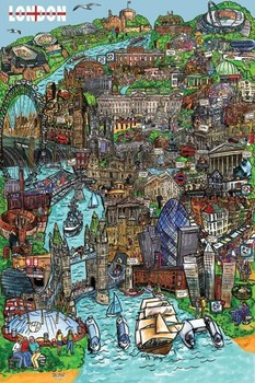London - sketch Poster