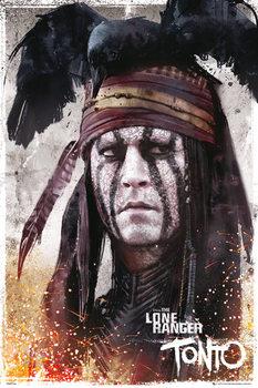 LONE RANGER - tonto Poster