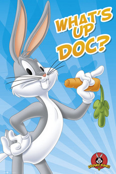 LOONEY TUNES - bugs bunny Poster