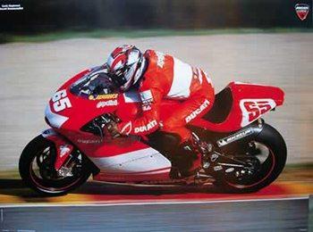 Loris Capirossi - Moto GP Poster