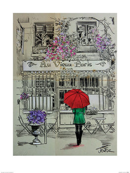 Loui Jover - Au Vieux Paris Art Print