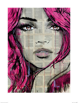 Loui Jover - Faythe Art Print