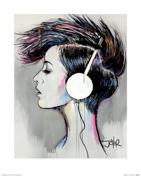 Loui Jover - Inner Beat Art Print